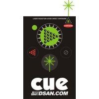 Télécommande HF 4 boutons Lazer vert
